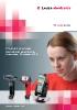 Lectors manuals (pistoles) per a codis de barres, codis 2D i identificació per radiofreqüència (RFID)