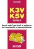 Bombas tipo placa oscilante de pistones axiales K3V / K5V (EN)