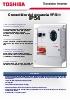 Convertidor de frecuencia Toshiba VF-S11, IP55