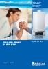 Caldera mural de condensación-Potencias desde 45 a 100 kW Logamax plus GB162