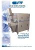 Desaladora automática para recuperar la sal adherida al jamón DS-600.EX y DS-600-A