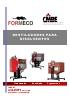 Destiladores de disolventes sin rascador D60-120-160-230