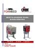 Destiladores de disolventes sin rascador Di15-30 LCD