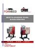 Destiladores de disolventes sin rascador Di60-12-160 LCD