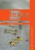 Catálogo placas y tornillos cirugía Tekka