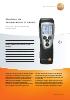 Medidor de temperatura (1 canal)-testo 110