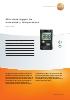 Mini data logger de humedad y temperatura-testo 174H