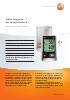 Data loggers de temperatura-testo 176 T3 y testo 176 T4
