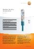 Medidor de pH y temperatura-testo 206