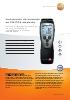 Instrumento de medición de CO/CO2 ambiente-testo 315-3