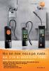 Detectores de fugas en tuberías de gas-testo 316-1, testo 316-2, testo 316-Ex