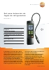 Set para detecci�n de fugas de refrigerantes-testo 316-4