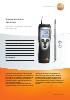 Anemómetro térmico-testo 425