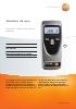 Medidor de rpm sin contacto-testo 465