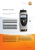 Medidor de rpm para la medición sin contacto y mecánica-testo 470