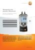 Manómetro de presión diferencial-testo 510