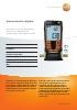 Vacu�metro digital-testo 552