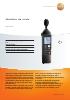 Medidor de ruido-testo 815