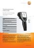 Termómetro por infrarrojos-testo 835