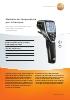 Medidor de temperatura por infrarrojos-testo 845