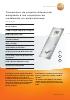 Transmisor de presión diferencial adaptado a los requisitos de instalación en salas blancas-testo 6383