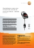 Caudalímetro para aire comprimido sonda de inserción DN40 - DN300-testo 6448