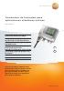 Transmisor de humedad para aplicaciones climáticas críticas-testo 6651