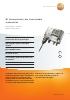 Transmisor de humedad industrial-testo 6681 + sonda testo 661x