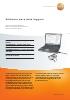Software para data loggers-testo ComSoft (básico, profesional, CFR)