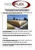 Cisterna flexible: para agua, agua pluvial y agua potable
