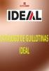 Catálogo de Guillotinas IDEAL