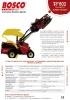 Cosechadora de aceitunas Bosco F802