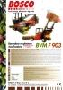 Barredora recolectora clasificadora de aceitunas Bosco BVM F 903
