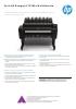 Impresora eMultifunción Serie HP Designjet T2500 eMultifunción