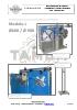Bobinador doble de ruedas en línea para tubos y perfiles flexibles_Modelo L Ø600 / Ø 900