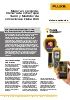 Cámara de infrarrojos Fluke Ti400 y Medidor de vibraciones Fluke 805