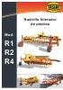 Rastrillos hileradores de piedras Tasias Mod. R1 / R2 / R4