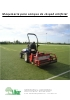 Maquinaria para campos de césped artificial