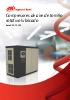 Compresores de aire de tornillo rotativo lubricado Serie R 55-75 kW