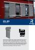 Catálogo sistemas de protección solar en aluminio (modelo BS 40)