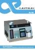 Autelec MG-707 - Medidor de rendimiento de aceituna, acidez de aceituna y riqueza grasa en orujos y alpechines