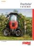 Tractor Frutteto³ 80 - 90.3 - 90 - 100 -110