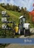 Tractores fruteros y para viñedos Lamborghini RF / RS / RV