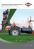 Pulverizadores arrastrados Metris de 3.200 y 4.100 litros