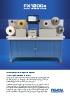 Máquina de acabados en impresión de etiquetas FX1200e