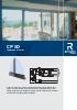 Catálogo sistema para correderas de aluminio (modelo CP 50)