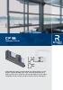 Catálogo sistema para correderas de aluminio (modelo CP 96)