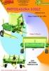 Prepodadora Doble con motor hidráulico