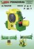 Podadoras al tractor P-8-T y P-10-T
