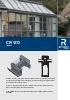 Catálogo sistemas para  verandas de aluminio (CR 120)